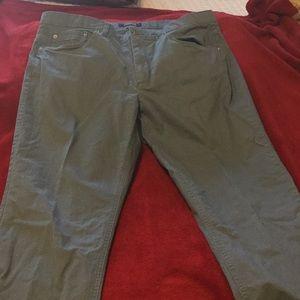 Men's cotton casual pants